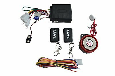 Universal 12V Compact Alarm System for Motorcycle Motorbike Trike Quad Scooter