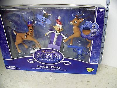 Rudolph the Red Nose Reindeer Rudolph and Friends Figure Set Comet