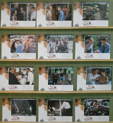 WJ51 THE WAR KEVIN COSTNER ELIJAH WOOD orig Lobby Set Spain