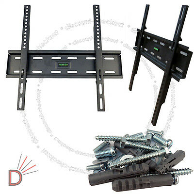 "TV Wall Mount Bracket for Screen LCD Plasma Flat TV 32"" 38 40 46 50 52 55"" inch"