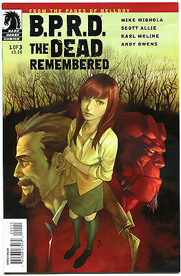 B P R D The DEAD REMEMBERED #1 2 3 + HELL on EARTH GODS #1-3, VF/NM, Mignola