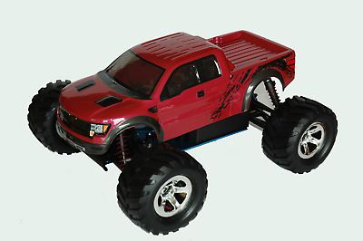 1:10 RC Clear Lexan Body Shell Ford F150 for Monster Truck or Crawler Colt