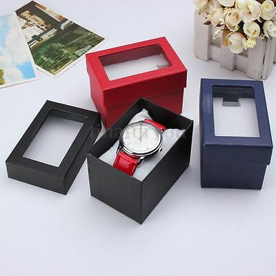 Present Gift Boxes Case Bracelet Bangle Jewelry Wrist Watch Storage Box Holder