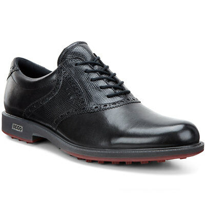 Ecco 2016 Mens Tour Hybrid Gore Tex Waterproof Leather Spikeless Golf Shoes