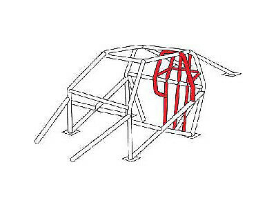 Jegster 940026K Funny Car Roll Cage Conversion Kit