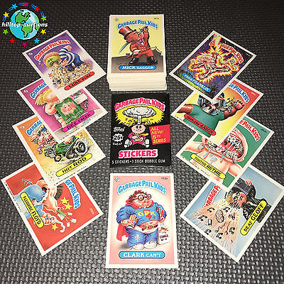 GARBAGE PAIL KIDS 5th SERIES 5 COMPLETE 88-CARD SET 1986 +FREE WAX WRAPPER
