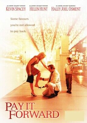 Pay It Forward (Kevin Spacey Helen Hunt) New DVD R4