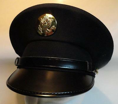 Cap Army Dress Uniform Enlisted Kingform 7-3/8 New $79.98 Free Shipping