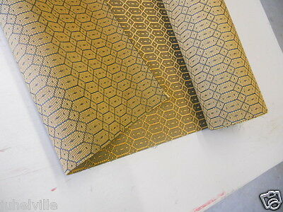 Deadstock Mid Century ACOUSTIC Cloth Fabric Amplifier Speaker Grill  50s lot 1