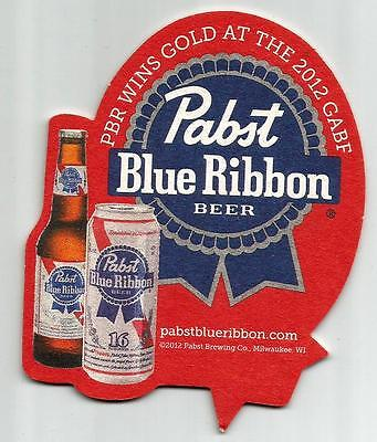 16 Pabst Blue Ribbon PBR Wins Gold At 2012 GABF  Beer Coasters