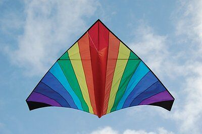 Giant 11 foot Mega Delta Single Line Kite [Toy] Outdoor Fun Exciting Design