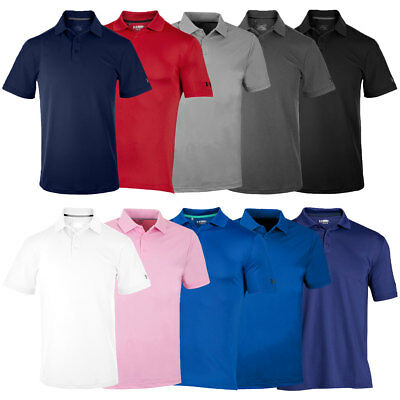 Under Armour 2017 Mens Medal Play Performance Polo Shirt UA Golf Short Sleeve