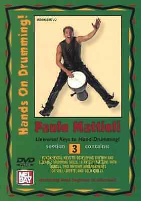 Hands On Drumming: Session 3 DVD NEW