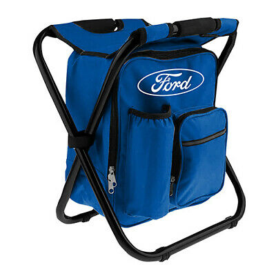 FORD Cowboy Hat Navy Mesh Blue Oval Logo Black Vinyl Band Christmas Camping Gift