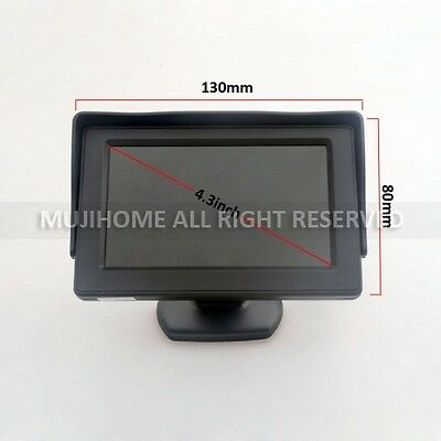 4.3inch LCD TFT Color Screen Car Rearview Monitor for DVD VCR Satellite Receiver