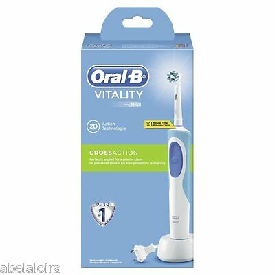 Cepillo De Dientes Electrico Oral B Vitality Crossaction Cross Action  Oralb