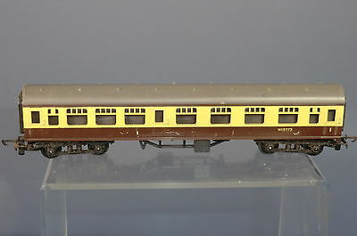 "TRI-ANG RAILWAYS ""TT"" MODEL No.182 BR (WR)  1st/ 2nd CLASS COMPOSITE COACH"