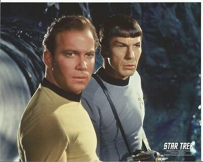 Star Trek Original Series Kirk and Spock Explore 8 x 10 Photo
