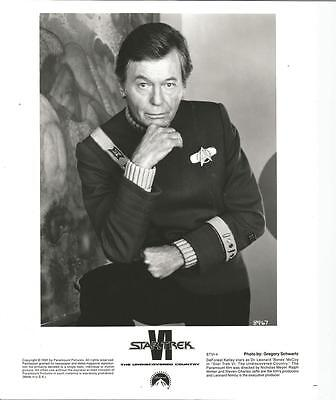 Star Trek Original Series VI DeForest Kelley as McCoy 8 x 10 Photo