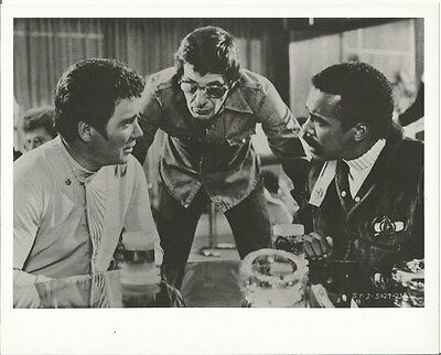 Star Trek Original Series Leonard Nimoy on Set with Kirk 8 x 10 Photo