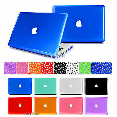 """For Apple Macbook 13"""" Air Pro 13.3"""" Crystal Clear Hard Case +Keyboard Cover"""
