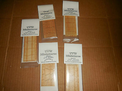 Lot Of Tvw Miniatures Crossing Planks