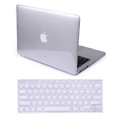 MacBook Pro 13 Inch Plastic Hard Case and Keyboard Cover (Crystal Clear)
