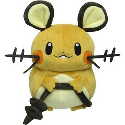 "Sanei Pokemon Go Plus Series All Star Collection PP14 Dedenne 7"" Stuffed Plush"