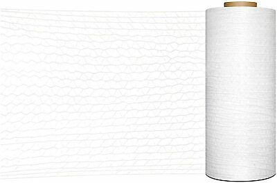 """1 Roll 20"""" x 10000 Feet Knitted / Woven Stretch Wrap Netting Film"""