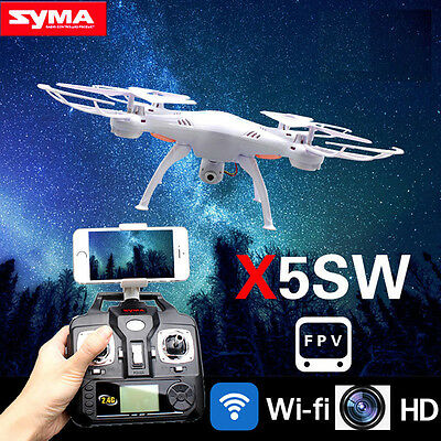 Syma X5SW Explorers RC Quadcopter Drone with Camera WIFI FPV Android iphone IOS