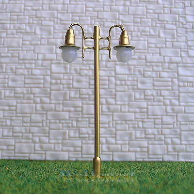 5 x OO / HO Scale Model Train Lamps Railroad Lamp posts 12V Street Lights #G006