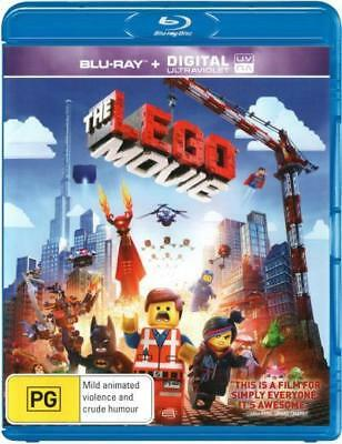 The Lego Movie Blu-ray Region B New!