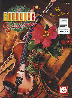 A Fiddling Christmas Sheet Music Book with PDF Download Violin Fiddle