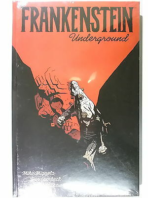 Mike Mignola FRANKENSTEIN Underground ( Cross Cult, Hardcover ) NEUWARE