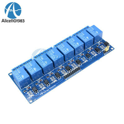 5V Eight 8 Channel Relay Module With optocoupler For PIC AVR DSP ARM Arduino