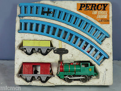 "VINTAGE HORNBY ""0"" MODEL No.xxx ""PERCY THE SMALL ENGINE"" TRAIN SET VN MIB"