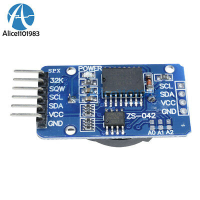 2PCS DS3231 AT24C32 IIC  precision Real time clock module memory module Arduino