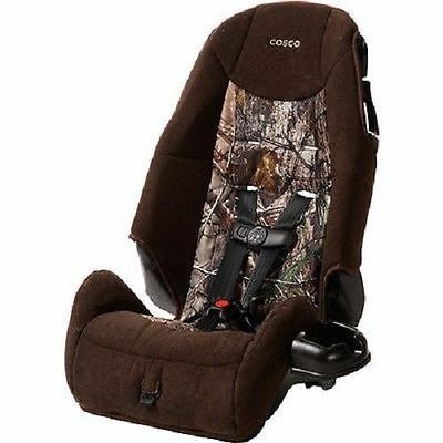 Cosco High Back Booster Baby Car Seat Realtree Camo 20 80lbs Forward Facing New