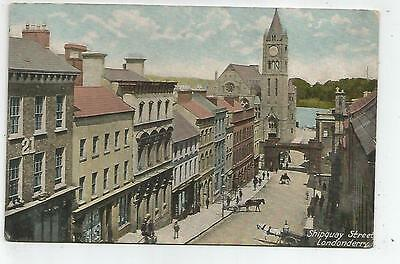 northern ireland postcard ulster irish londonderry