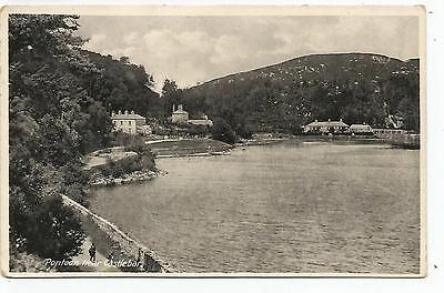 irish postcard ireland mayo pontoon village