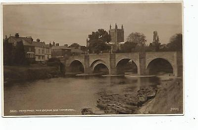 england Herefordshire postcard united kingdom hereford
