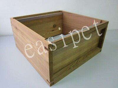 National Bee Hive Cedar Brood Box New Beekeeping Bee Keeping Easipet Beehive 179