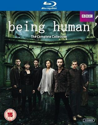 Being Human Complete Series  1 - 5   Blu Ray - New  /sealed