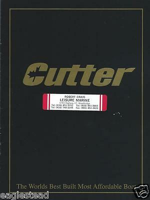 Boat Brochure - Cutter - XLE Craze Product Line Overview  (SH05)