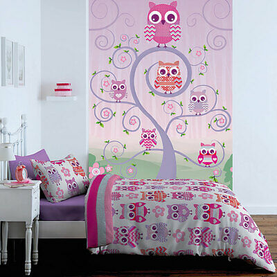 Catherine Lansfield Kids Owl Wallpaper
