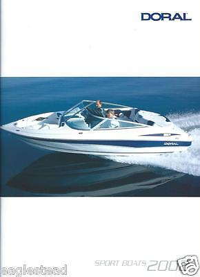 Boat Brochure - Doral - Sport Product Line Overview - 2002  (SH07)