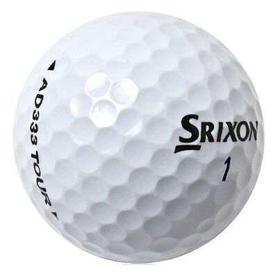 24 x SRIXON Lake Golf Balls - PEARL / AAA - AD333 Tour/Distance/Soft Feel/Z-Star