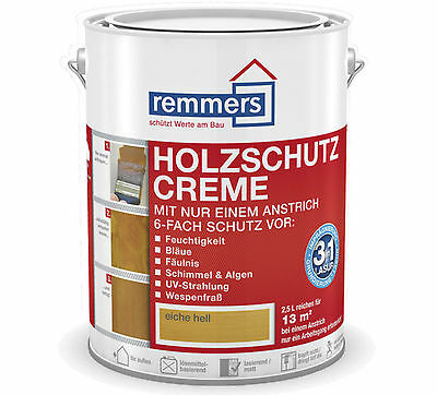 Remmers Wood protection-cream 10 L white protection varnish stain Colour lz