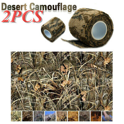 Waterproof 5CMx4.5M Desert Camouflage ACU Stealth Wrap Tape Roll for Rifle Gun