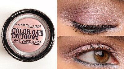 Maybelline Color Tattoo 24hr Eyeshadow -140 Rose Riot- new